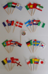 World Cup 2018 Cocktail Stick Set